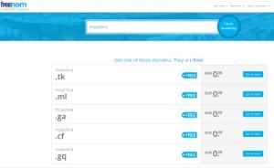 Primer brezplacne domene